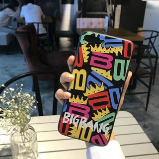 BigBang, BTS Silicone Case For iPhone 7 8 Plus iPhone 6s 6 Plus