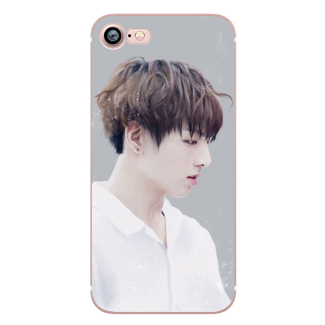 BTS Spring Day Phone Case for iphone 6 6S 7 8 PLUS 5S 5 SE X 10 Silicone Clear Soft