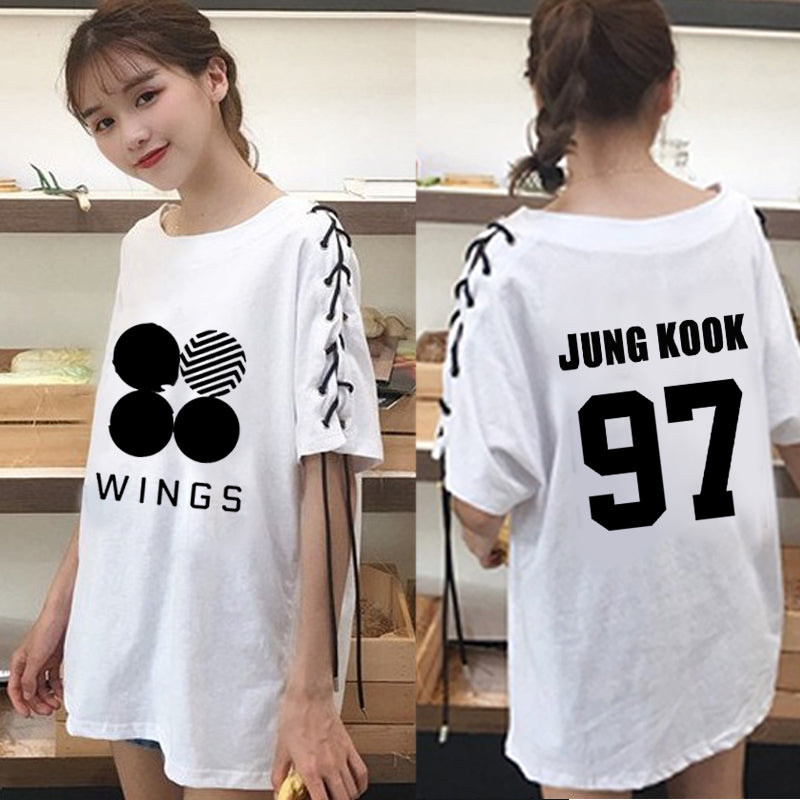 BTS Wings Tie T-shirt