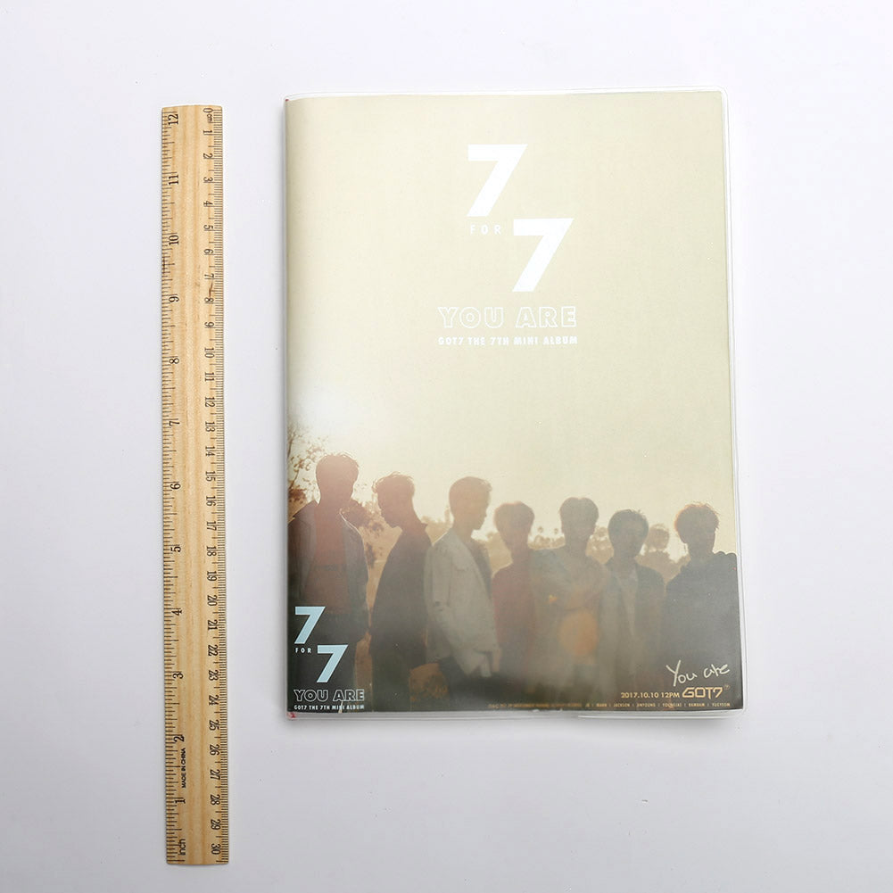GOT7 Team Super Star Print Notebook