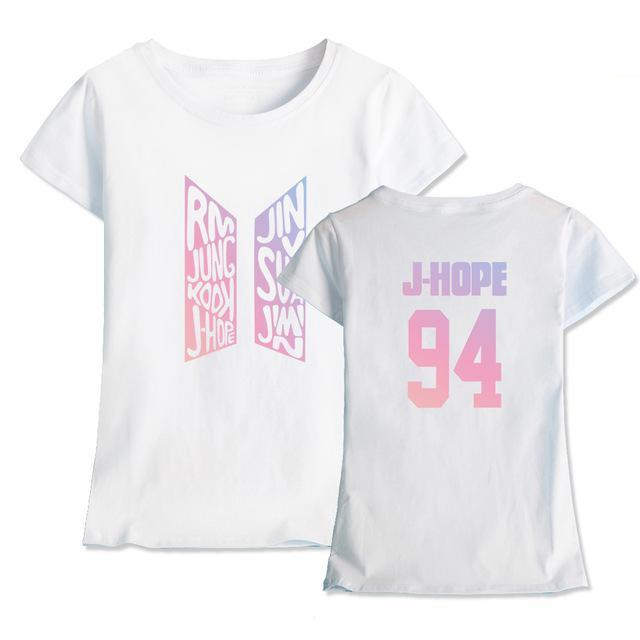 BTS T-shirts Coton Love Yourself
