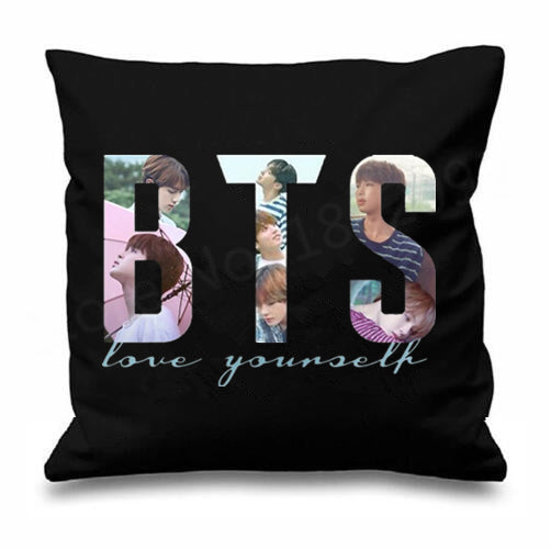 BTS Love Yourself  Pillow Case