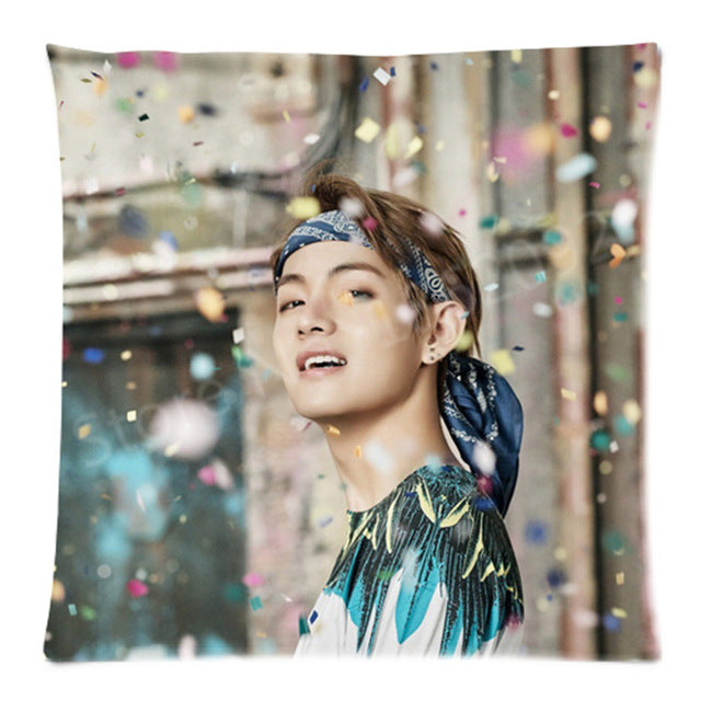 BTS Cushion Cover Two Sides 18""