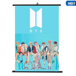2018 BTS New Album Love Yourself Answer Poster