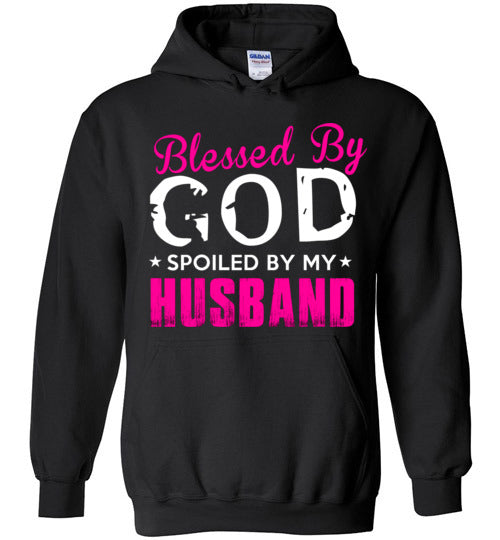 Spoiled By My Husband Heavy Blend Hoodie