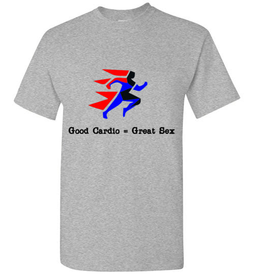 Good Cardio = Great Sex Men's T-Shirt Various Colors