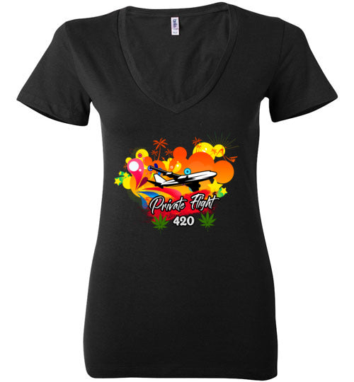 Private Flight 420 Women's Shirts