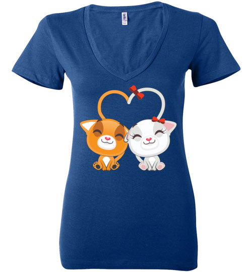 Cute Cat Women's Shirts