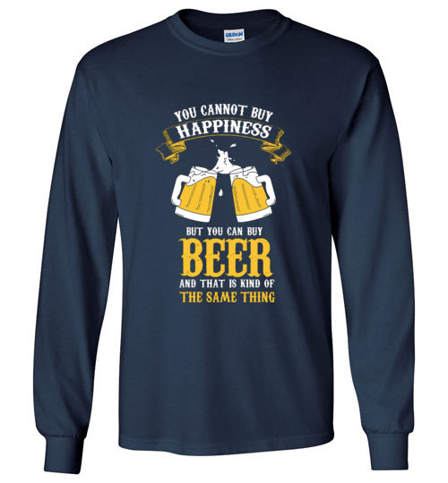 Funny Beer Long Sleeve T-Shirt