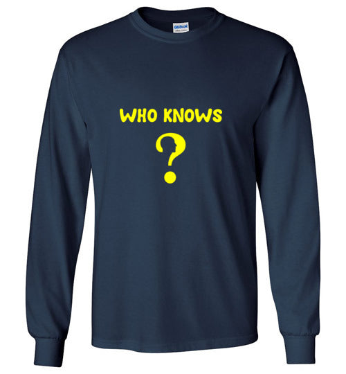 WHO KNOWS ? Men's Shirts Various Colors
