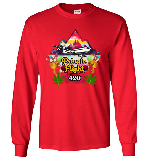 Private Flight 420 Men's Shirts