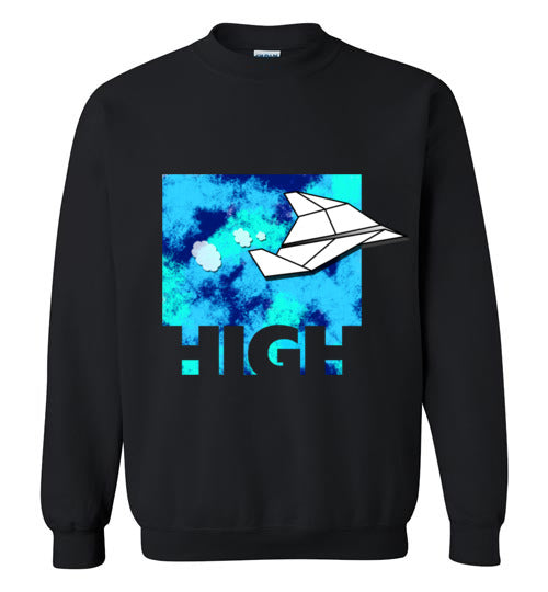High Paper Plane Men's Shirts And Hoodies Various Colors