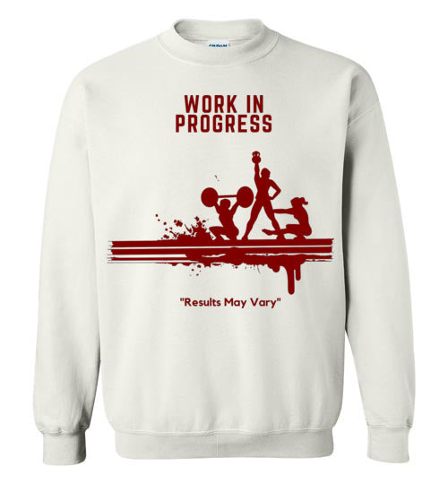 Work In Progress Men's Sweat Shirt