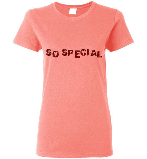 So Special Strawberries Women's T-Shirt Various Colors