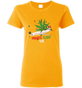 Private Flight 420 Women's T-Shirt