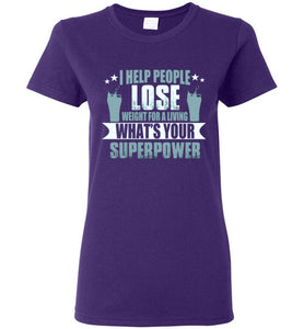 What's your superpower Ladies Short-Sleeve T-Shirt