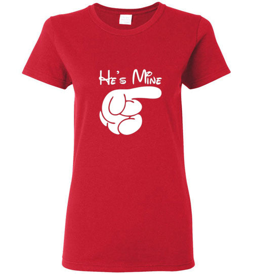 His-Hers He's Mine Couples T-Shirt