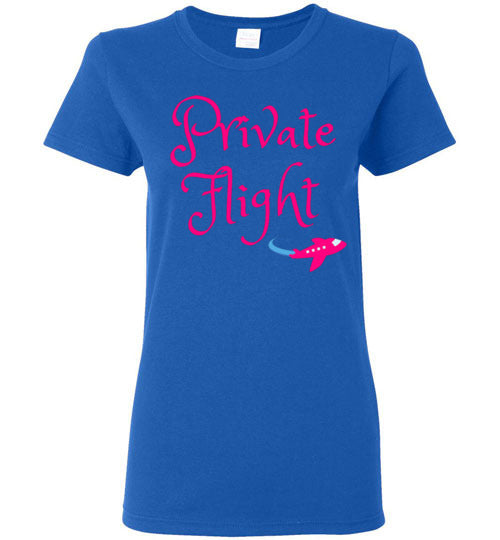 Private Flight Women's Shirts Various Colors