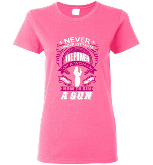 Never Underestimate A Woman Short-Sleeve Tee