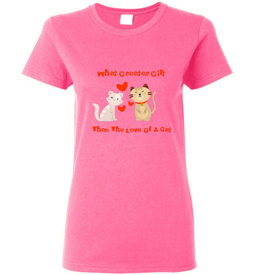 Love For Cats Women's T-Shirts