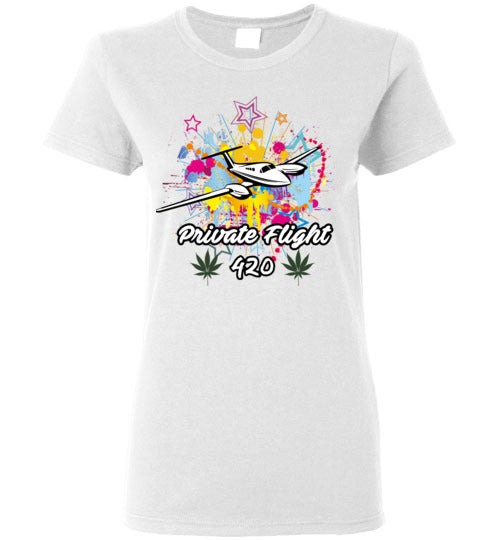 Private Flight 420 Women's Shirt