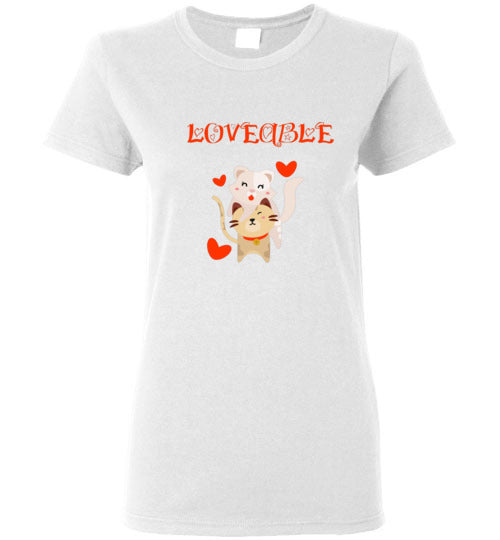 Loveable Cats Women'sT-Shirts