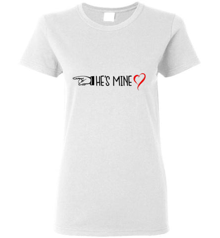 His-Hers He's Mine T-Shirt