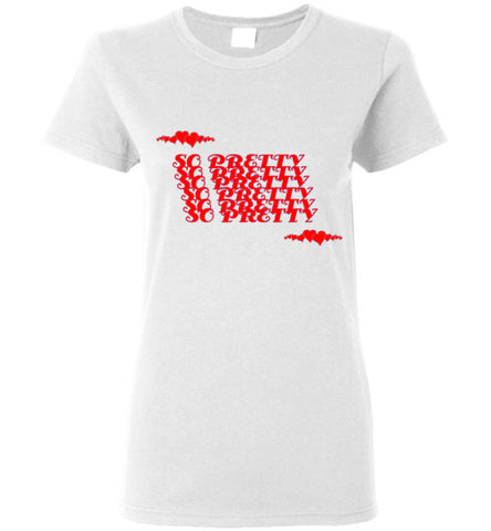 So Pretty Women's T-Shirt Red