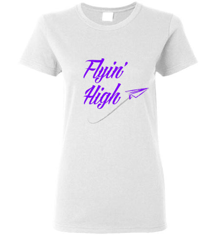 Flying High Women's Shirts Various Colors