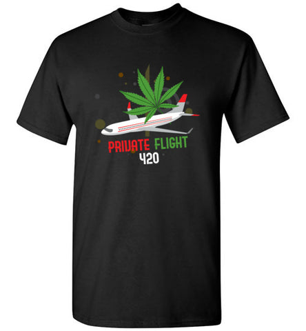 Private Flight 420 Men's Shirt