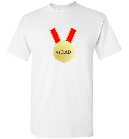 #1 DAD Gold Medal Various Colors