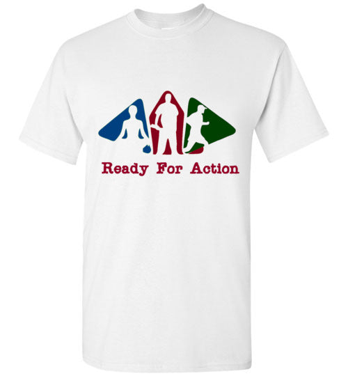 Ready For Action Men's Shirts Various Colors