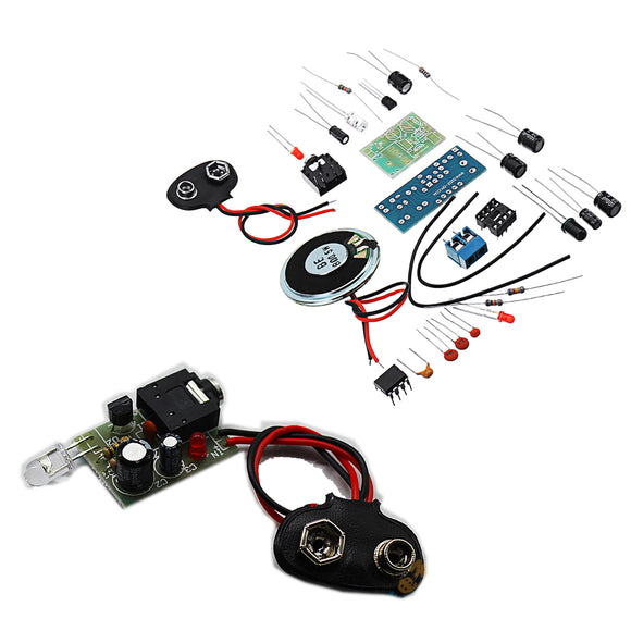 DIY Infrared Transmitter Receiver Kit Wireless Audio Transmission Module Kit