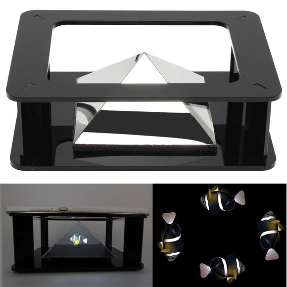 DIY 3D Holographic Projection Pyramid For iPhone 6/6S Plus 6/6S Smartphone