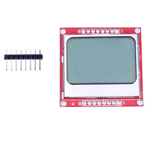 3Pcs 5110 LCD Module White Backlight For Arduino