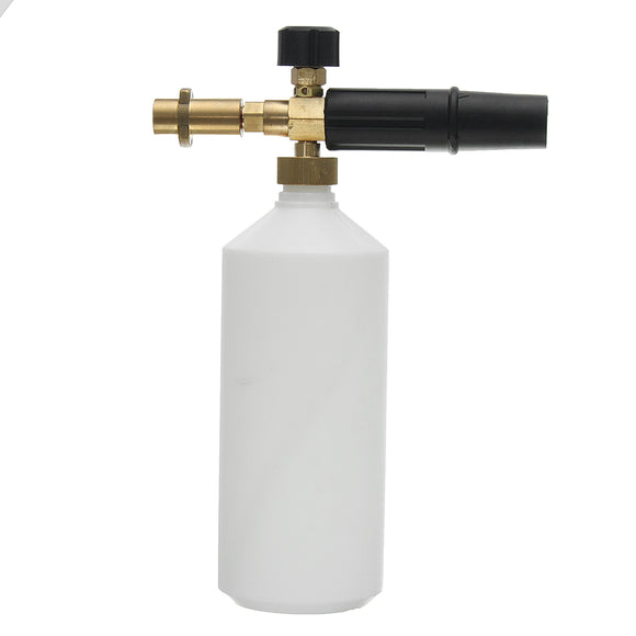 1L Snow Foam Lance for Karcher K Series Pressure Washer Compatible Car Wash Bottle