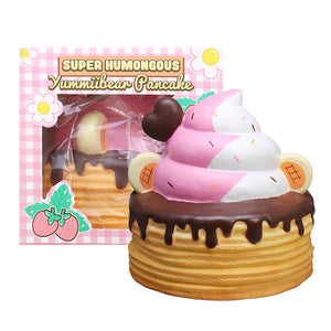 Yummiibear Giant Ice Cream Pancake Squishy 25CM Creamiicandy