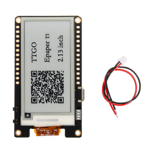Wemos T5 V2.0 TTGO WiFi Wireless Module Bluetooth Base ESP-32 2.13 ePaper Display Development Board