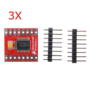 3Pcs Dual Motor Driver Module 1A TB6612FNG For Arduino Microcontroller