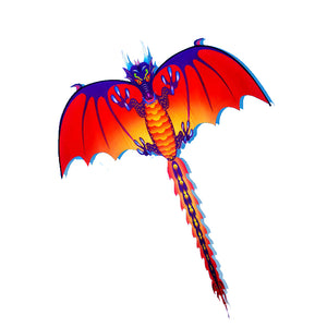 "Outdoor Nylon 5759"" Beach Park Flying Kite Dragon Pterosaur Dinosaur With String Spool For Kids Ad"""