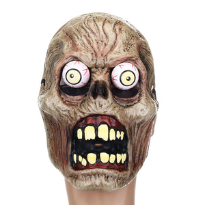 Halloween Latex Mask CS Zombie Face Mummy Melting Costume Party Prop Mask