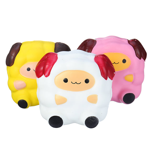 Squishy Sheep Lamb 12CM Jumbo Soft Slow Rising Collection Christmas Gift Toys