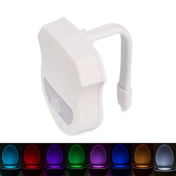 Bathroom 16 Colors Sensor LED Toilet Night Light Body Motion Activated Backlight LED Lamp Toilet