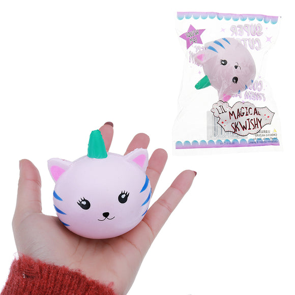 Cute Kawaii Squishy Kitten Toy 6CM Slow Rising For Kids Cat Gift With Packaging