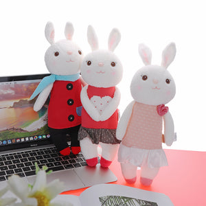 Metoo 35CM Lovely Doll Angela Tiramisu Rabbit Plush Toys For Girl Birthday Gift