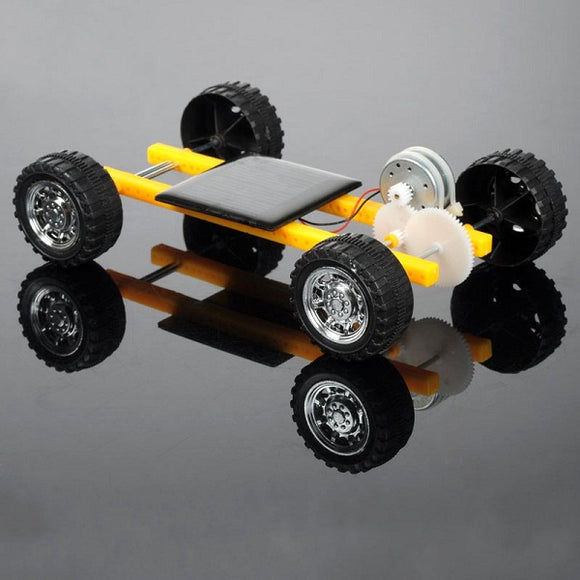 DIY Solar Power Toy Mini Car for Children