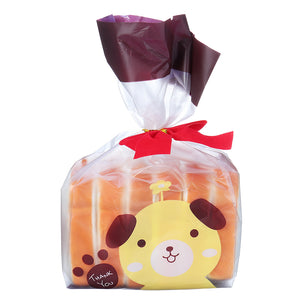 6PCS Toaster Bread Squishy 9CM Cracker Dough  With Packaging Collection Gift Soft Toy