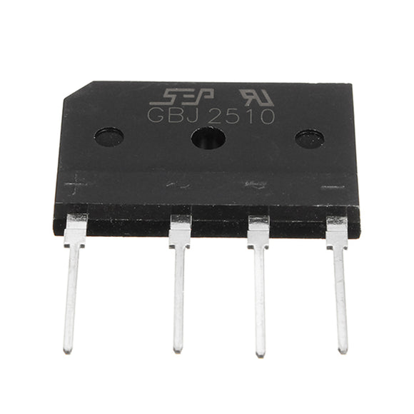 3pcs 25A 1000V Diode Rectifier Bridge GBJ2510 Power Electronic Components For DIY Projects