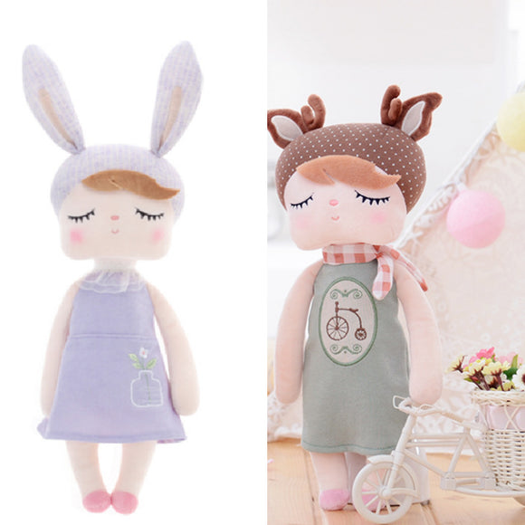 Metoo 13inch 33*12*8CM Angela Rabbit  Plush Toy Doll Gift For Children