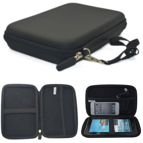 Hard Carry Anti Shock Travel Case Bag For 6/7 Inch GPS Navigation iPhone iPad Tablet Device